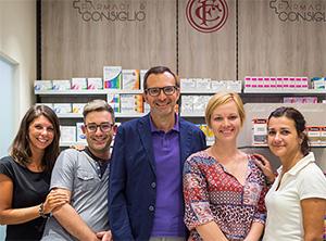 Team Farmacia Manzoni di Milano
