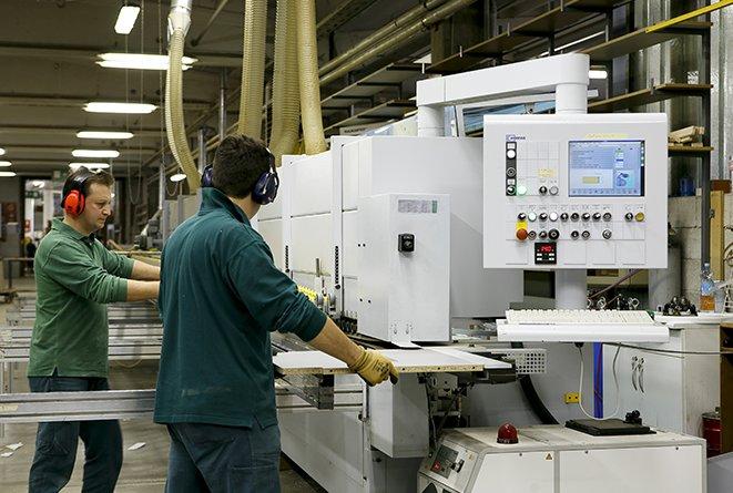 sito produttivo Th.Kohl - macchinari